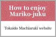 How to enjoy Mariko-juku
