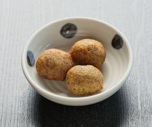 Fried yam with tofu